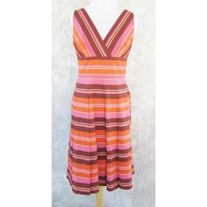 KAY UNGER Dress 8 NEW TAG Pleats